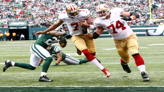 Rapid Reaction: 49ers 34, Jets 0