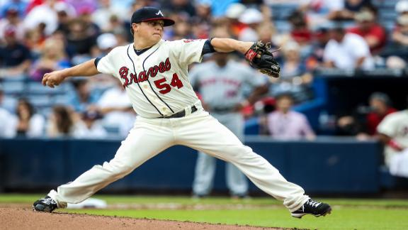 Braves win 23rd straight started by Medlen