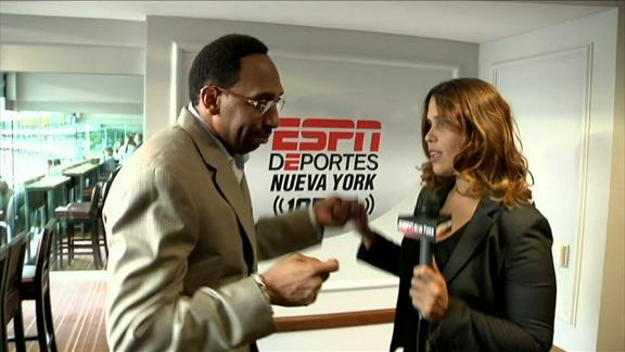 Video - Stephen A. Shows His Spanish Side