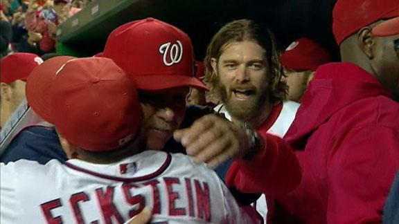 Nats wrap up NL East title despite loss to Phils