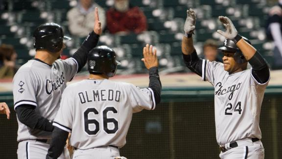 White Sox out of playoff hunt despite rout