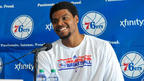 Video - Andrew Bynum To Rest
