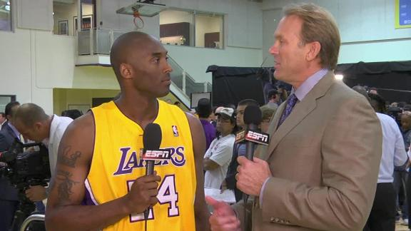Video - Kobe's Expectations High