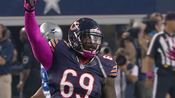 Video - Bears, Cowboys Scoreless After 1st Quarter