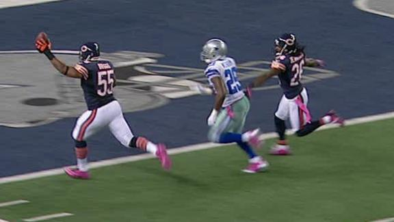 Video - Bears Lead Cowboys After 3rd Quarter