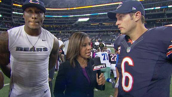 Video - Cutler, Marshall On Bears' Win