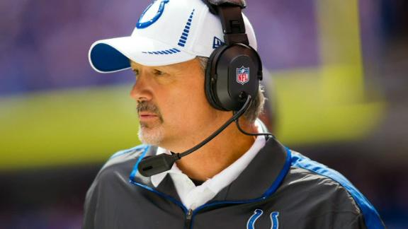 Colts focus on football as Pagano recovers