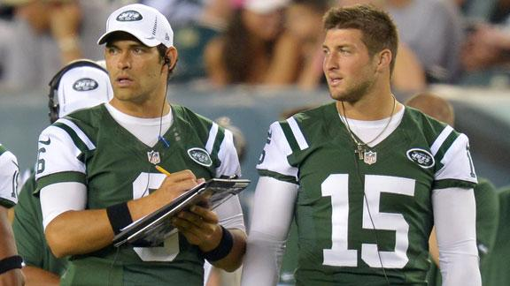 Snap decision: Tebow or Sanchez?
