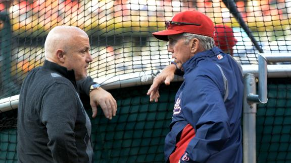 Video - Special Moment For Mike Rizzo