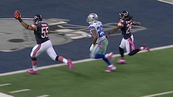 Video - Bears Blowout Cowboys 34-18