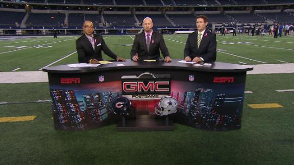 Video - The Monday Night Football Crew Breaks Down The Bears' Win