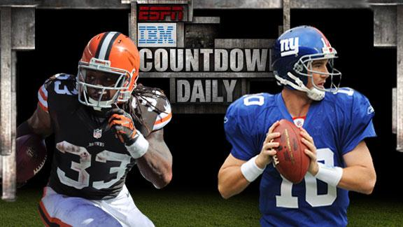Video - Countdown Daily AccuScore: CLE-NYG