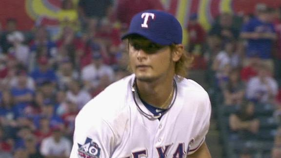 No matter the scenario, Darvish to open playoffs