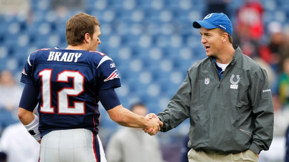 Friends Brady, Manning set to renew rivalry
