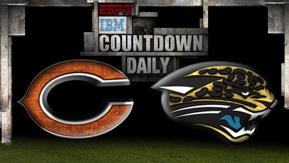 Video - Countdown Daily Prediction: Bears-Jaguars