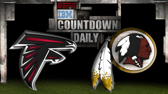 Video - Countdown Daily Prediction: Falcons-Redskins