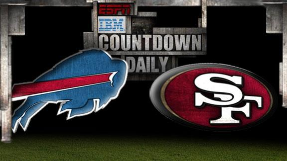 Video - Countdown Daily Prediction: Bills-49ers