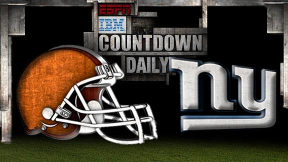 Video - Countdown Daily Prediction: Browns-Giants