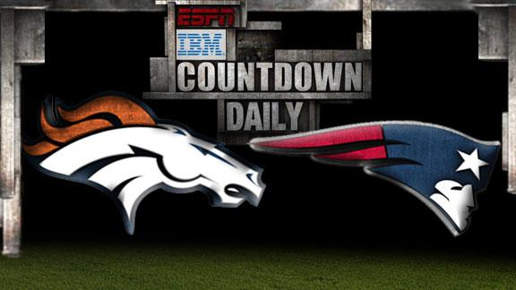Video - Countdown Daily Prediction: Broncos-Patriots