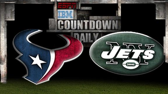 Video - Countdown Daily Prediction: Texans-Jets