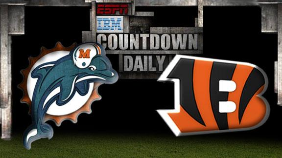 Video - Countdown Daily Prediction: Dolphins-Bengals