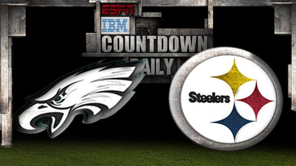 Video - Countdown Daily Prediction: Eagles-Steelers