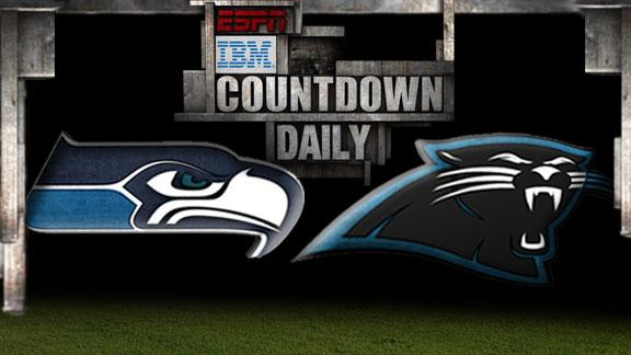 Video - Countdown Daily Prediction: Seahawks-Panthers