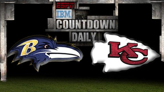 Video - Countdown Daily Prediction: Ravens-Chiefs