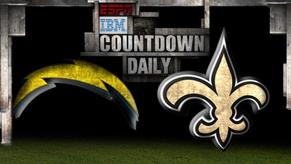 Video - Countdown Daily Prediction: Chargers-Saints