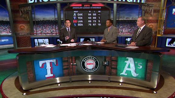 Video - A's, Rangers Playoff Bound