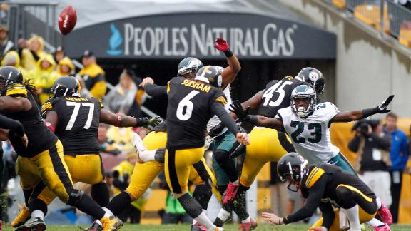 Steelers top Eagles with last-second field goal