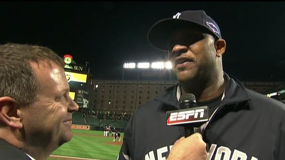 Video - Sabathia On Game 1 Performance