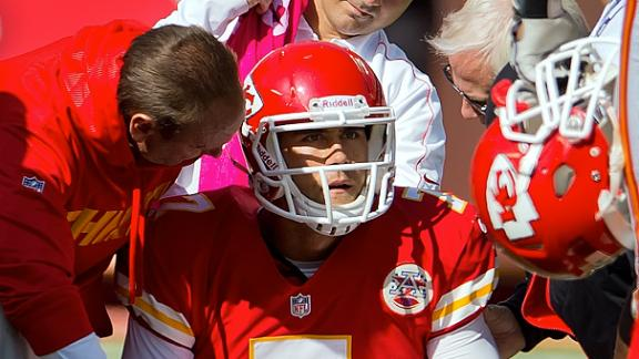 Video - Chiefs Fans Cheer After Cassel's Injury