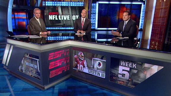 Video - NFL Live OT: RG3 Suffers Mild Concussion
