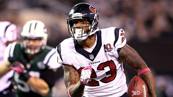 Video - Foster continues to carry Texans