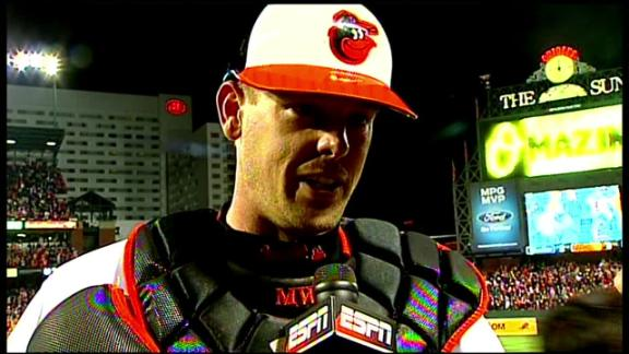 Video - Matt Wieters On Orioles Game 2 Win
