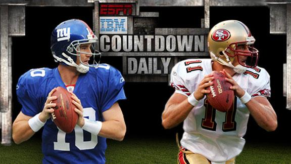 Video - Countdown Daily AccuScore: NYG-SF
