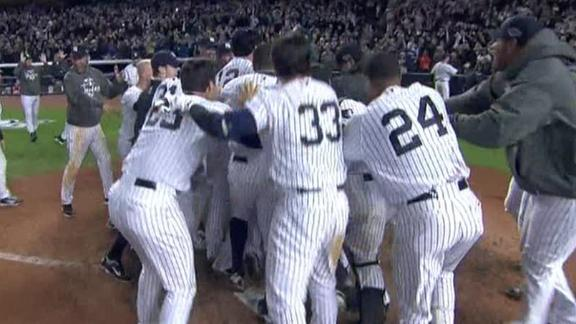 Ibanez's heroics give Yanks 2-1 lead over O's