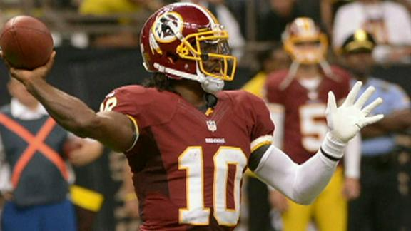 Video - RG3 Cleared To Practice