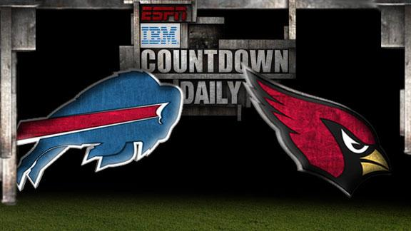 Video - Countdown Daily Prediction: Bills-Cardinals