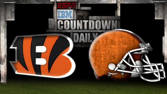 Video - Countdown Daily Prediction: Bengals-Browns