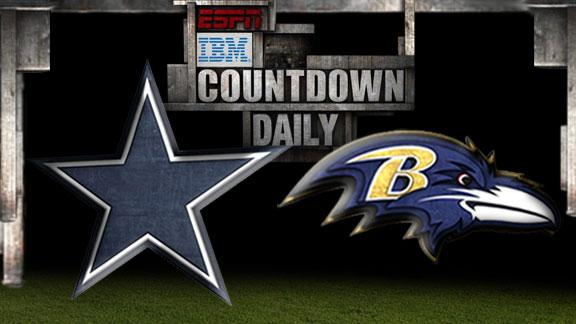 Video - Countdown Daily Prediction: Cowboys-Ravens