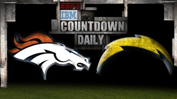 Video - Countdown Daily Prediction: Broncos-Chargers