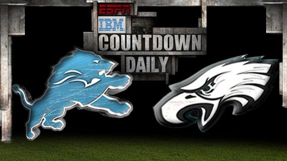 Video - Countdown Daily Prediction: Lions-Eagles