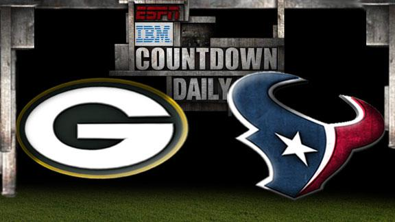Video - Countdown Daily Prediction: Packers-Texans