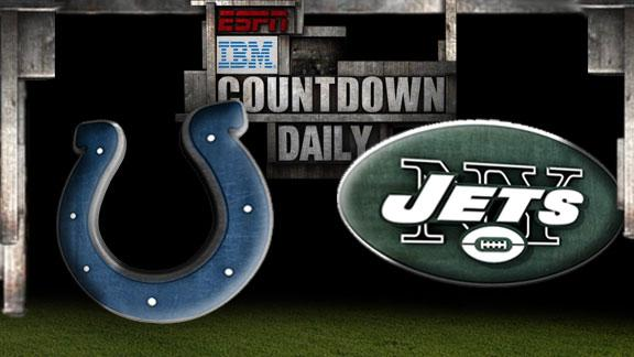 Video - Countdown Daily Prediction: Colts-Jets