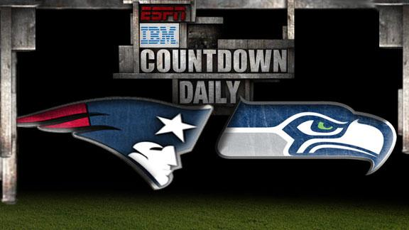Video - Countdown Daily Prediction: Patriots-Seahawks