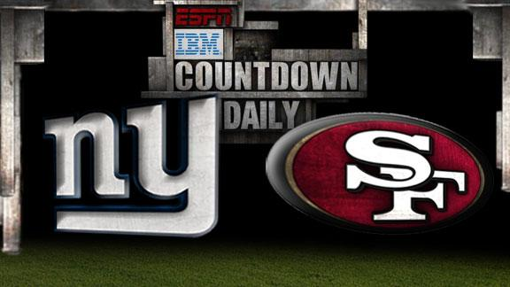 Video - Countdown Daily Prediction: Giants-49ers