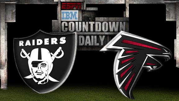 Video - Countdown Daily Prediction: Raiders-Falcons