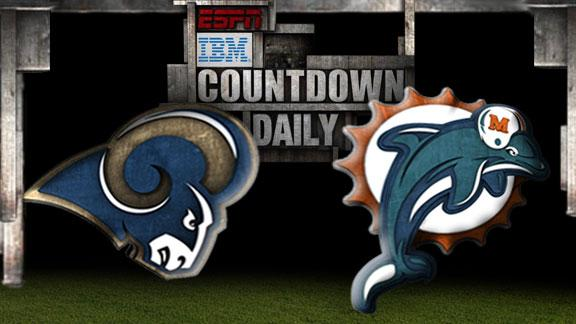 Video - Countdown Daily Prediction: Rams-Dolphins